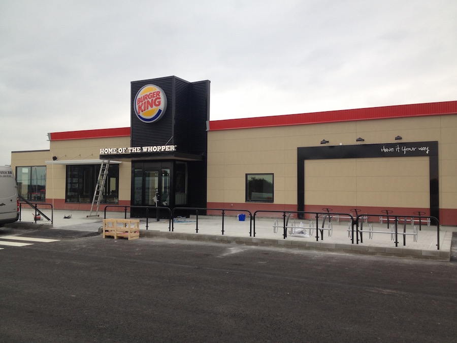 Burger King platarbeten