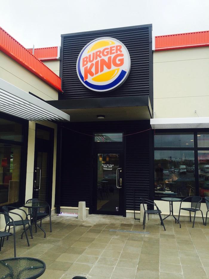 Burger king ingang